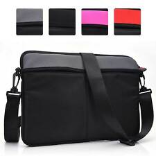 KroO Water Resistant Padded 13 Inch Laptop Sleeve and Shoulder Bag Cover NDR2-3