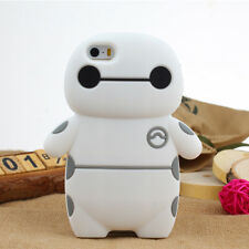 Cute Cartoon Soft Silicone Rubber Case Cover for Apple iPhone 6 iPhone 6 Plus 5S