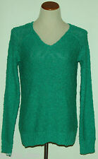 SONOMA~Woman's Jade Green Long Sleeve Nep Sweater~Size XS, S ~NWT