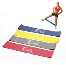 Hot Ankle Resistance Bands Leg Butt Lift Fitness Loop Workout Exercise Random
