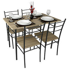 Cecilia 5 Piece Modern Dining Table and Chairs Set | Quality Kitchen Furniture