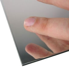 3mm Silver Acrylic Mirror Sheet *36 SIZES TO CHOOSE* Perspex Plastic Safety Mirr