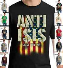 2nd Second Amendment Gun Rights Anti ISIS AR15 Rifle Political New Mens T Shirt