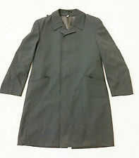 German Army Raincoat Genuine Surplus Single Breasted Fashion Ht. 5ft 8in Ch.36in