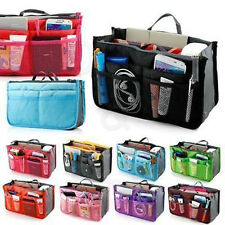 Multipurpose Women Insert Handbag Organiser Purse Large liner Bag Tidy Travel
