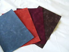 1 x 42cm x 1 metre velvet paper burgundy, blue, brown, or orange
