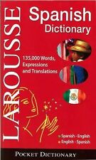 Larousse Pocket Dictionary : Spanish-English / English-Spanish by Larousse...