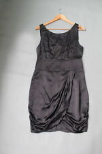RRP$349 GORMAN little black dress 100% silk size 8,10 cocktail muti purposes