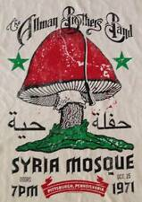 """New! The Allman Brothers """"Syria Mosque 71"""" Classic Rock Band Licensed T-Shirt"""