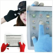 Unisex Touch Screen Knit Gloves Magic Texting Smart Phone Winter Gloves