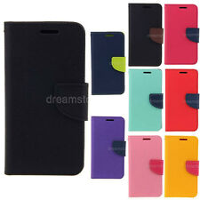 Deluxe Wallet Leather Flip Tpu Case Cover For Samsung Galaxy Note 1 N7000 i9220
