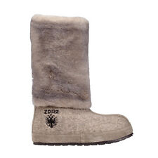 ZDAR Nikita Natural Lamb Fur Boots Size 6, 7, 8, 9, 10 Available- Brand New