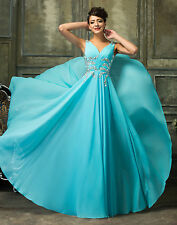 CHEAP~ LONG Gown Bridesmaid Wedding Dresses Prom Evening Party Ball Maxi Dress