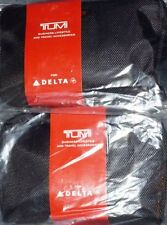 Two TUMI Business Class Amenity Kit Delta Air Lines