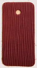 HORWEEN  COACH GRAIN LEATHER SAMPLE 2.2 mm OXBLOOD THICK IDEAL NOTEBOOKS