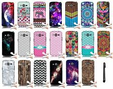 For Samsung Galaxy Avant G386T TPU Rubber Gel Silicone Cover Phone Case + PEN