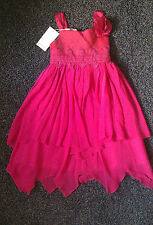 BNWT ~ GIRLS ~ MONSOON ODETTA DRESS ~ 5-6 YEARS ~ SEE MORE PICTURES ~ FREE POST