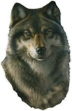 WOLF / HUNTING HUNTER color vinyl bumper decals stickers (890)