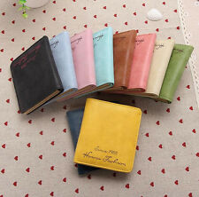 Cute Womens Leather Wallet Coin Purse Clutch Wallet Lady Card Holder Small Bag