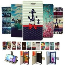 For Smart Phone New Luxury Magnetic Flip Wallet PU Leather Card Stand Cover Case