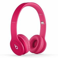 Beat by Dr. dre Solo HD On-Ear Headphone (Drenched in Pink)