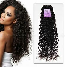 Brazilian Remy Virgin Unprocessed Water Wave Curly Human Hair Weave/Extension
