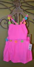 NWT Childrens Place TCP girls hot pink 2pc bikini swim suit wear 12m 18m uchoose