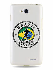 GRÜV Case Cover Brazil Soccer Football 2014 for LG Devices