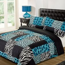 Kruger Teal Duvet Bedding Set - Single-Double-King Size-Super King Size