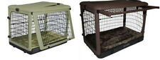 """Pet Gear Steel Dog Crates """"The Other Door"""" w / Bolster Pad & Storage Bag S M L"""