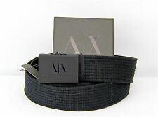 Armani Exchange A|X  Dress Belt 100% Authentic 100% New made in Italy