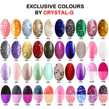 EXCLUSIVE STARTER KIT T&B+1COLOUR COLOURS BY CRYSTAL-G UV/LED GEL NAIL POLISH