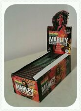 Bob Marley Rolling Papers 1 1/4 Pure Hemp Rolling Papers Rasta Theme New!