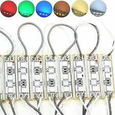 20pcs LED Module Strip SMD 5050 Waterproof String Light Lamp Super Bright Sign