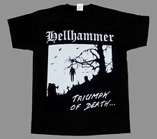 HELLHAMMER TRIUMPH OF DEATH'83 CELTIC FROST TRIPTYKON NEW BLACK T-SHIRT