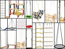 Garden outdoor toy swings rope ladders toddler swings net swing climbing wall