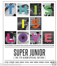 Super Junior - This Is Love(Mamacita Special 7th Album) CD MEMBER CHOICE +POSTER