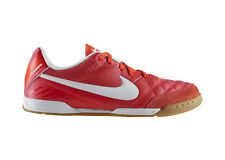 Nike Tiempo Natural IV IC 2013 Iindoor Soccer Shoes Red / White Coral Brand New