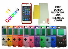 Gameboy Case Cover + Screen Protector For Apple iPod Touch 5 5th 5G Gen