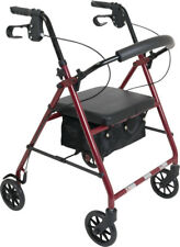 ProBasics 1037 Rollator Rolling Walker with Medical Curved Back Soft Seat