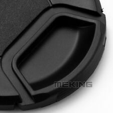 Meking 52-82mm Camera Snap-on Lens Cap Cover with Cord Filter Lens Cap For Nikon
