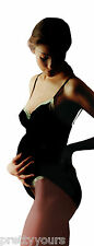 Women's Comfortable Maternity Luxury  Warm Opaque Cotton Tights with Wool