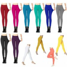Colorful Slim Jeggings Stretchy Sexy Pants Soft Pencil Skinny Leggings One Size~