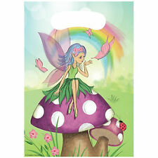 Fairy Party Girls Birthday Party Bags Loot Bags 8-40!! FREE POST