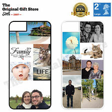COLLAGE PHOTO PHONE CASE PERSONALISED FOR APPLE IPHONE 4, 4S, 5, 5S, 6, 5c