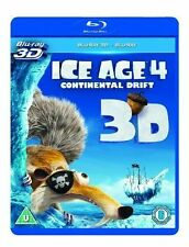 ICE AGE 4 - CONTINENTAL DRIFT - BLU RAY 3D - NEW / SEALED - UK STOCK