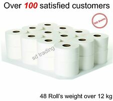 Toilet Tissue Rolls 2 Ply 500 Sheets each Roll Super Jumbo no 200 or 320 sheets