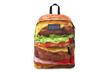 Jansport High Stakes TRS709K New Mens Kids Multi Double Cheese Burger Backpacks