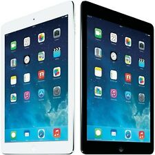 """Apple iPad Air 9.7"""" 16, 32 and 64gb WiFi Tablet, White/Black"""