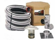 FLEX-ALL STAINLESS STEEL CHIMNEY LINER KITS